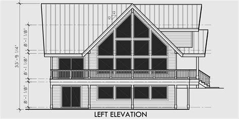 amazing a frame house plan central oregon house plan 5
