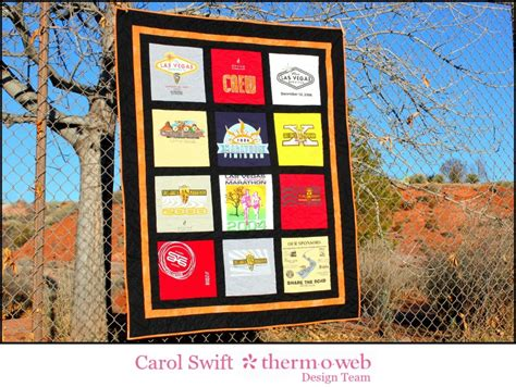 sweet memories t shirt quilt therm o web