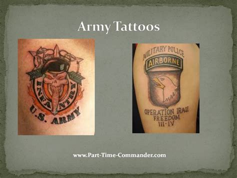 army tattoos page 50