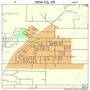 white city oregon map 4181450