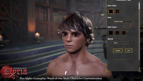 i ll be there characters character creation showing 1 soulbound studios to show off character creation in
