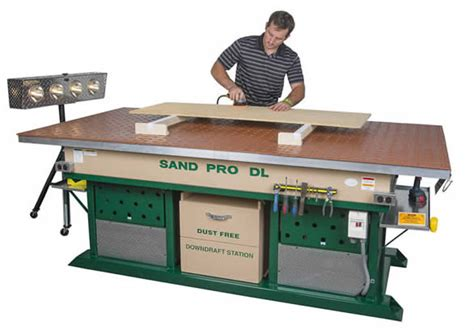 sand pro downdraft sanding station woodworking blog