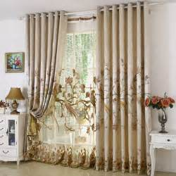 Rustic Window Curtains New Arrival Rustic Window Curtains For Living Room Bedroom Blackout Curtain Window Treatment