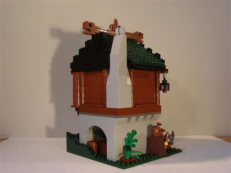 wood lego house moc small wooden house lego historic themes