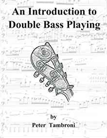 introduction to the bass books an introduction to bass tambroni