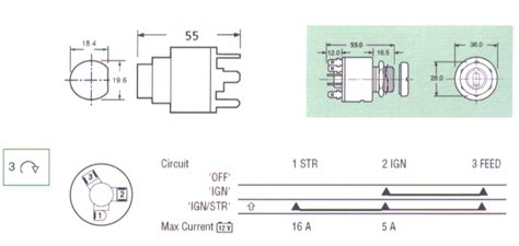 lucas 128sa ignition switch wiring diagram lucas generator