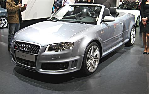 File:Audi RS4 Cabriolet B7 Wikimedia Commons