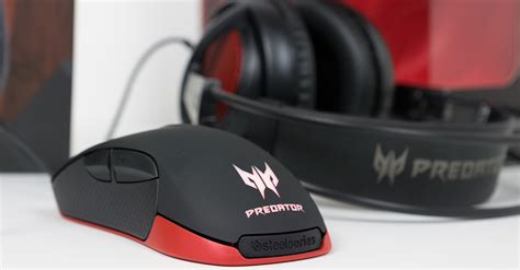 Acer Predator Gaming Headset kurztest acer predator gaming mouse headset