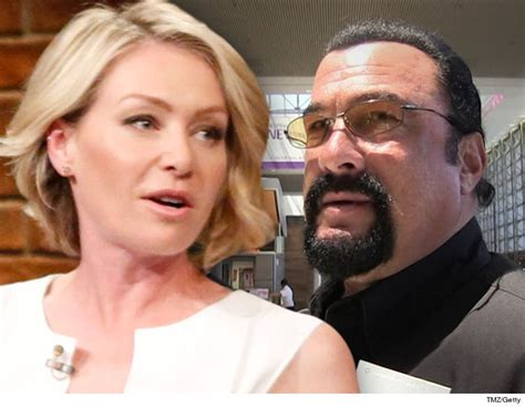 the casting couch com portia de rossi claims steven seagal unzipped during her