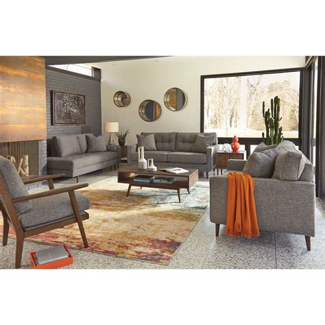 living room furniture groups ashley furniture zardoni stationary living room group