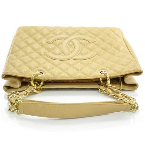 Chanel Gst Caviar Ghw 5266 chanel caviar grand shopping tote gst beige ghw 23302