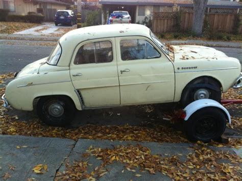 1964 Renault Dauphine 1964 Renault Dauphine For Sale Photos Technical