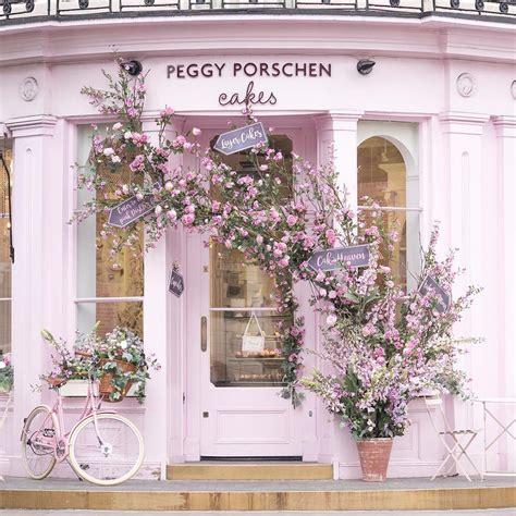 Peggy Porschen by Sitting Pretty Outside The Peggy Porschen Parlour