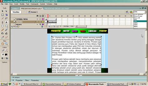 membuat teks anekdot panjang membuat teks scrolbar dengan macromedia flash 8 youtube