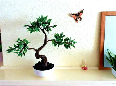 origami bonsai joost langeveld origami page