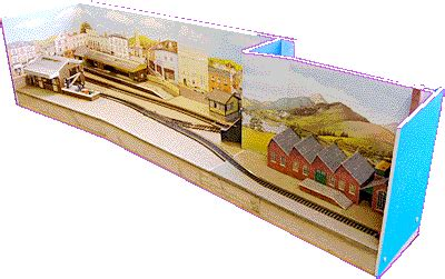 micro layout scrapbook a micro layout model railroad pinterest layouts and