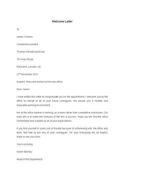 letter employee templates