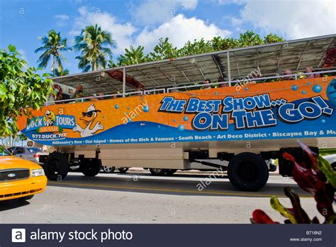 duck boat tour driver duck tours bus stock photos duck tours bus stock images