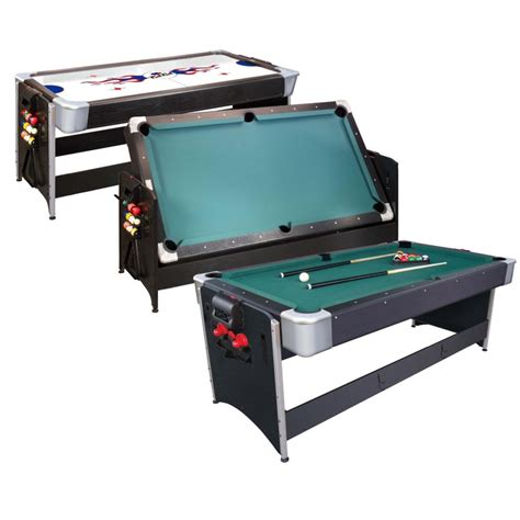 Cat Pockey 2 In 1 Pool Air Hockey Table At