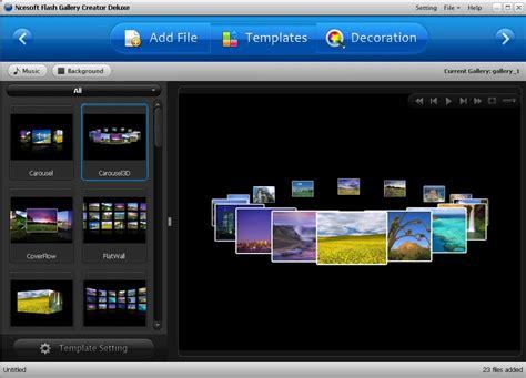 Photo Slideshow Maker Deluxe For Windows flash gallery creator deluxe 1 0 0