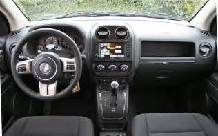2013 Jeep Compass Interior 2013 Jeep Compass Latitude 4x4 Test Motor Trend