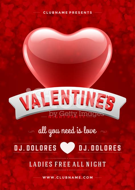 Indian Home Design Videos by Happy Valentines Day Party Poster Design Template Stock