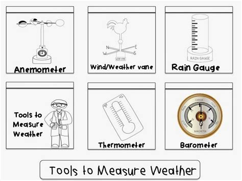 Weather Tools Worksheet by Springing Into Science K 2 Hop Weather Palooza