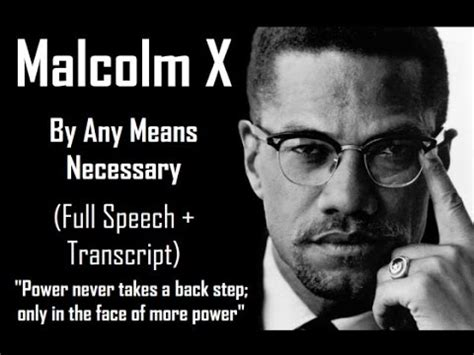 by any means necessary after malcolm x 2008 rbg malcolm x by any means necessary full speech text