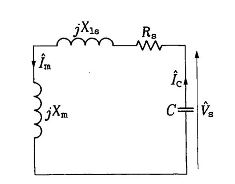 equivalent circuit of induction generator induction generator induction motor