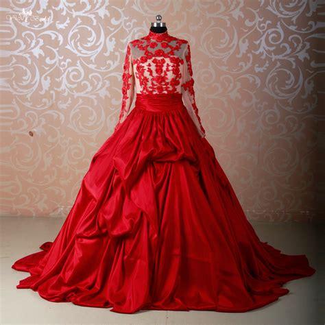 Rote Brautkleider by Kaufen Gro 223 Handel Roten Ballkleid Brautkleider Aus