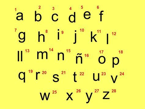 P A R O S H 3 4 Length el abecedario espa 241 ol ppt descargar