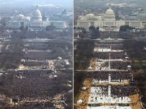 picture of inauguration crowd trump ordered park service to find proof for inauguration
