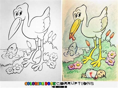 coloring book corruptions coloring book corruptions see what happens when adults do
