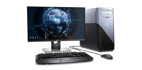 gaming desktop desk inspiron 5675 vr gaming desktop pc amd ryzen processors
