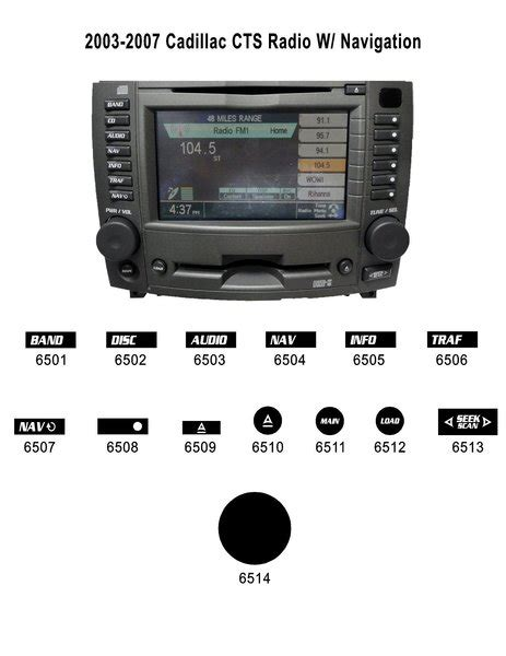 active cabin noise suppression 2006 cadillac cts navigation system cadillac cts radio w navigation button renu