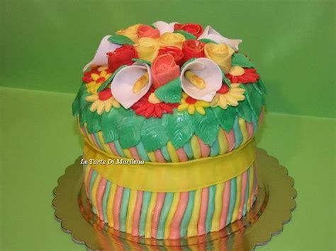 fasci di fiori torta fascio di fiori le torte di marilena