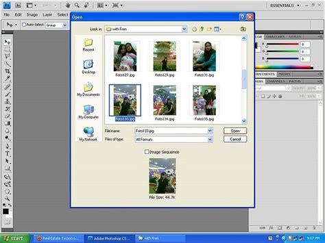 tutorial vektor cs4 cara membuat efek hitam putih pada photo pake photoshop cs4
