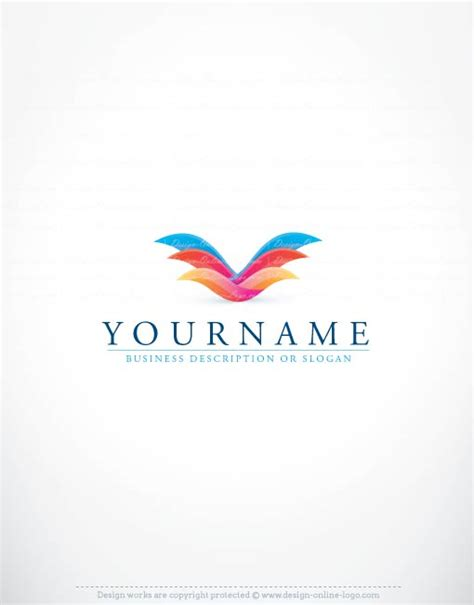 exclusive logo design bird fly logo images free