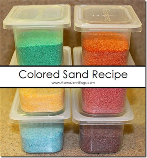 colored sand diy colored sand tutorial
