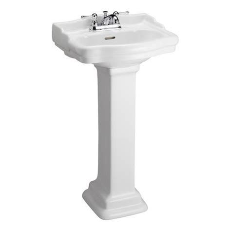 Menards Pedestal Sinks by Barclay Stanford 460 Pedestal Sink 4 Quot Centerset At Menards 174