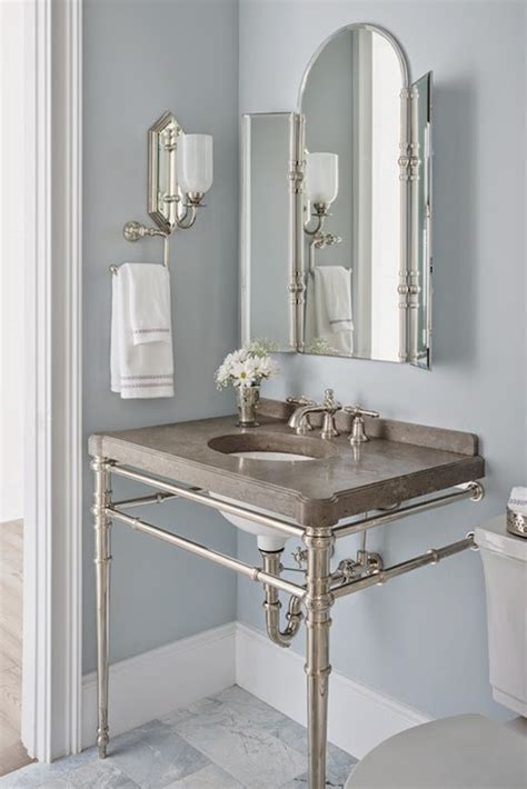 Benjamin Paint Colors For Bathrooms by Silver Gray Paint Colors Transitional Bathroom