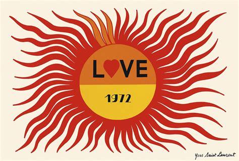 St Laurent Gift Card - yves saint laurent s love cards