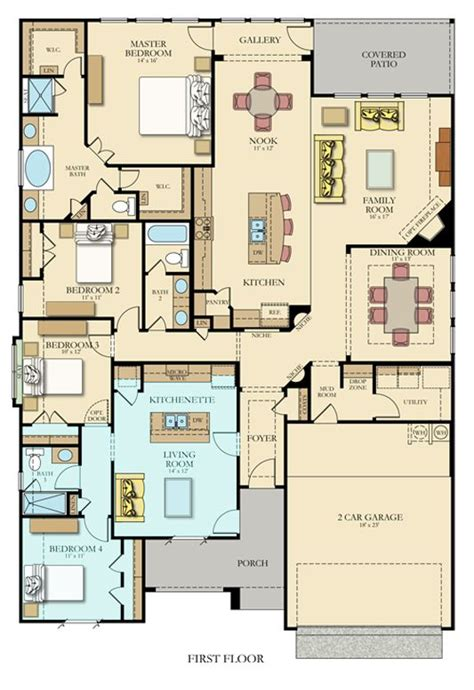 hilltop house plans kitchenettes in law suite and layout on pinterest