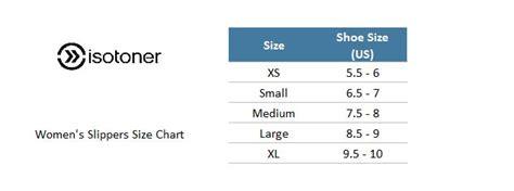 isotoner slipper size chart isotoner slipper size chart 28 images isotoner mens
