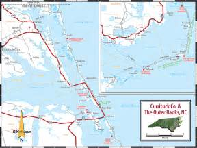 map of the outer banks carolina carolina outer banks map