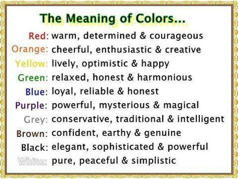 the meaning of colors this explains a of why my