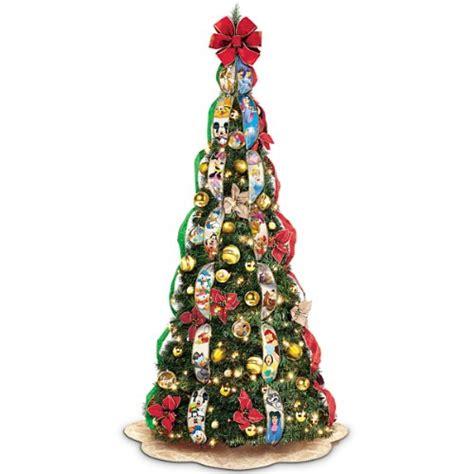 disney wondrous pre lit pull up christmas tree