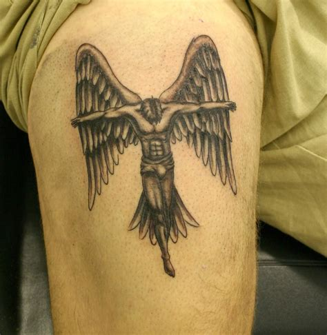 tattoo angel wings sleeve angel tattoos and designs page 425