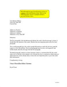 Business Letter Format With Return Address addressing a business letter business proposal templated business