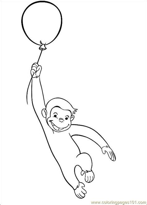 coloring pages curious george 29 cartoons gt curious